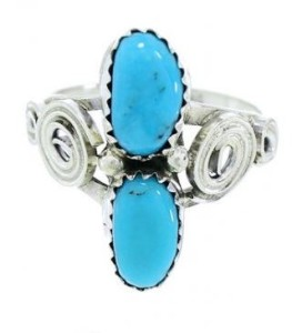 history of the turquoise silver ring